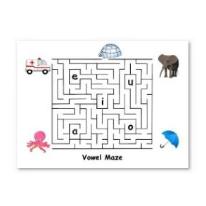 Worksheets Visual Tracking Worksheets tracking saccades eye can learn maze 1 bug