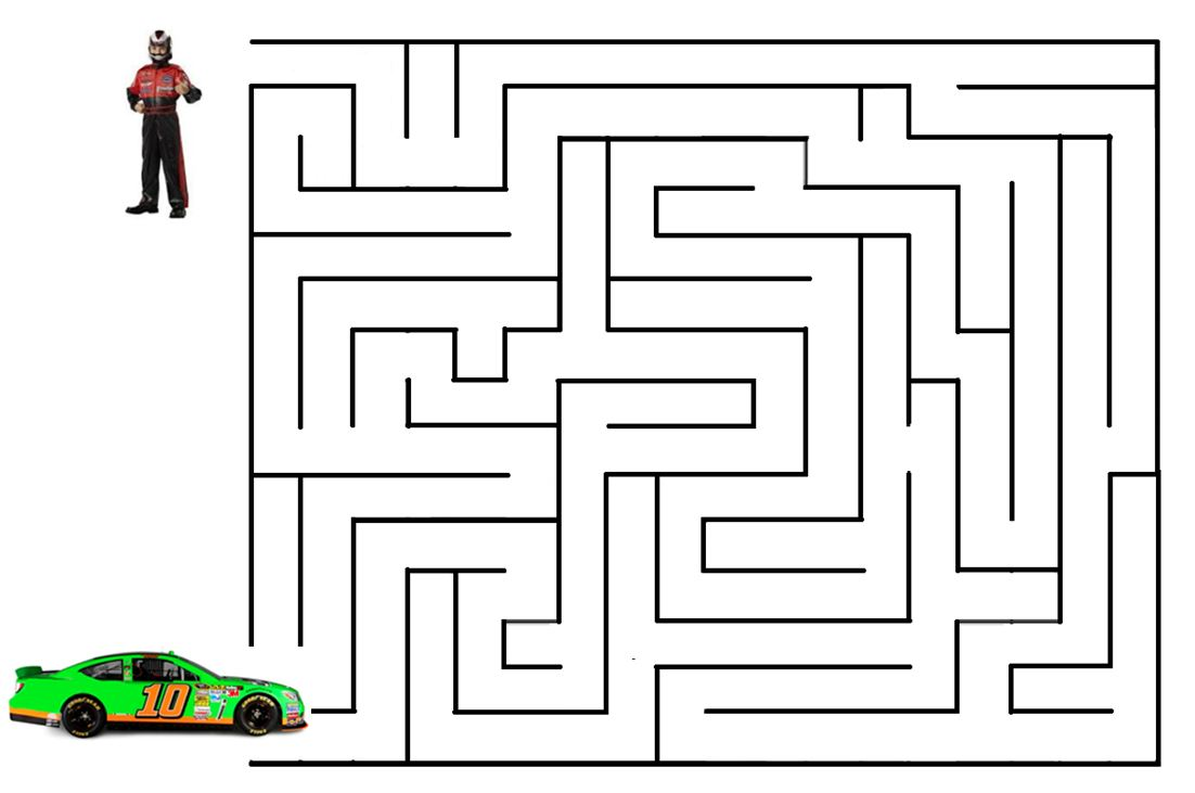 Race Car Maze | Eye Can Learn