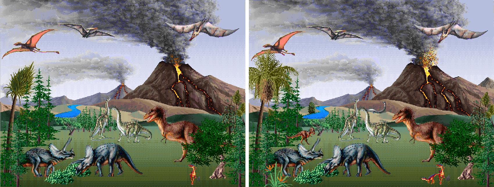 dinosaurs 2x