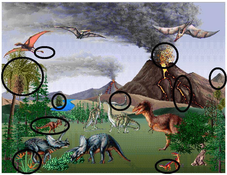 dinosaurs answers