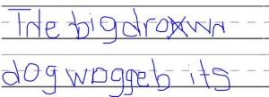 letter reversals 2